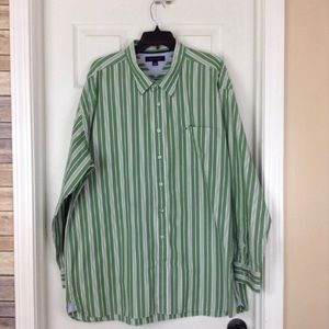 Tommy Hilfiger long sleeve striped casual shirt